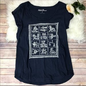 Lucky Brand Tops - 3 FOR $40 • Lucky Brand Zodiac Tee • Size Small